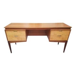 Mid Century Modern Curly Maple Desk C.1960