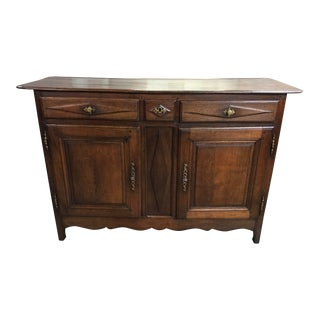 Early 19th Century Provincial French Buffet For Sale