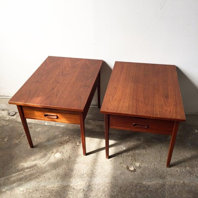 Teak Mid-Century Side Tables - Pair - Image 2 of 10