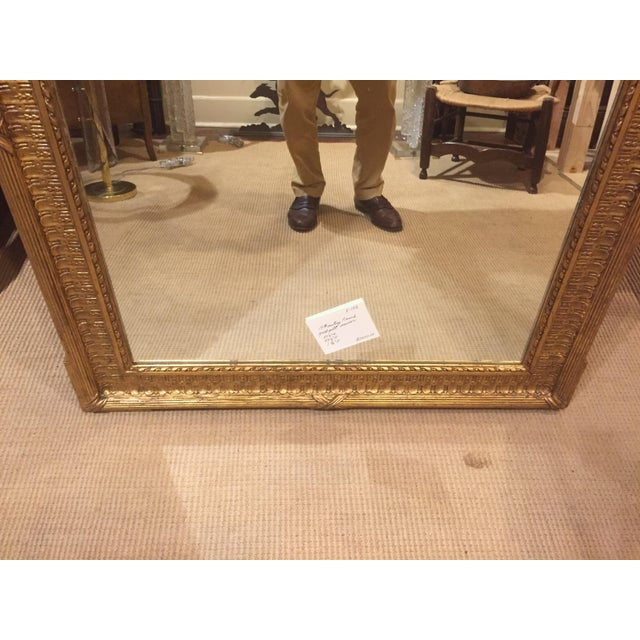 19th Century French Gold Gilt Mirror For Sale - Image 12 of 12