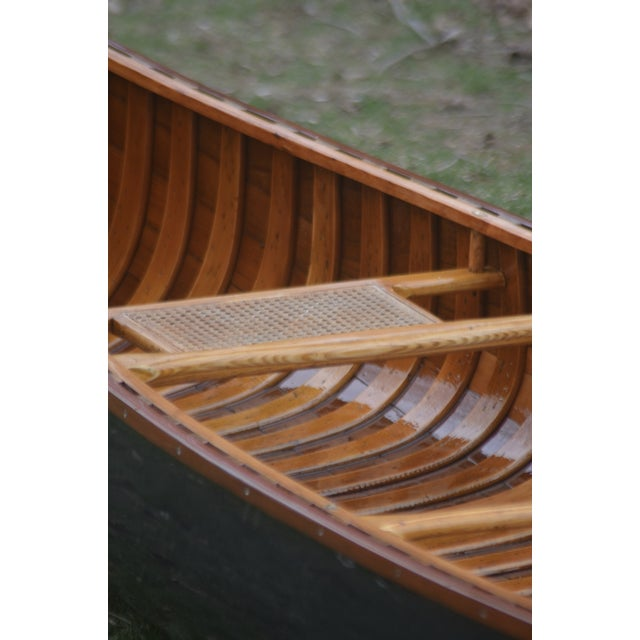Fully Restored Antique Canoe - Image 6 of 7