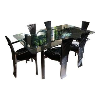 Torstein Nilsen for Westnofa Dining Furniture-Set of 7 For Sale