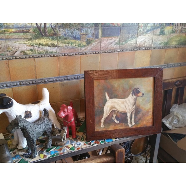 Jack Russell Oil Painting - Image 5 of 5
