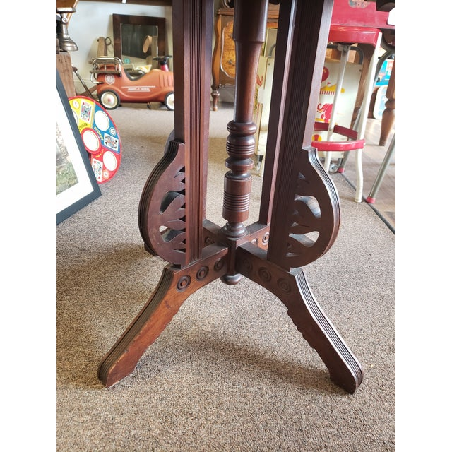 Victorian, Antique Eastlake Style Table For Sale - Image 10 of 11