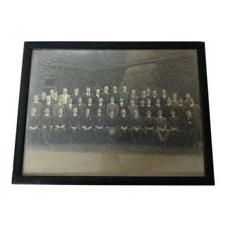 Antique Framed Class Photo For Sale