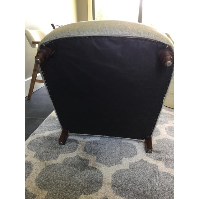French Club Chairs - a Pair For Sale - Image 11 of 12