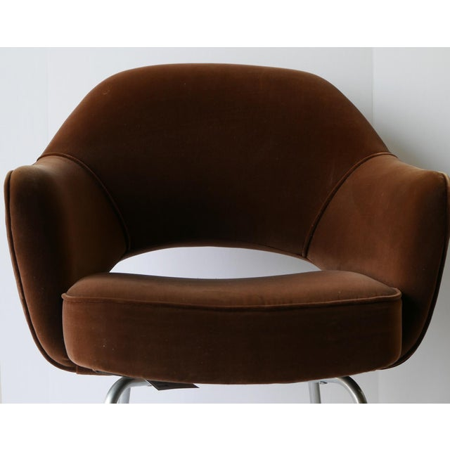 6 Eero Saarinen Executive Chairs for Knoll - From Ibm Offices For Sale In Palm Springs - Image 6 of 9