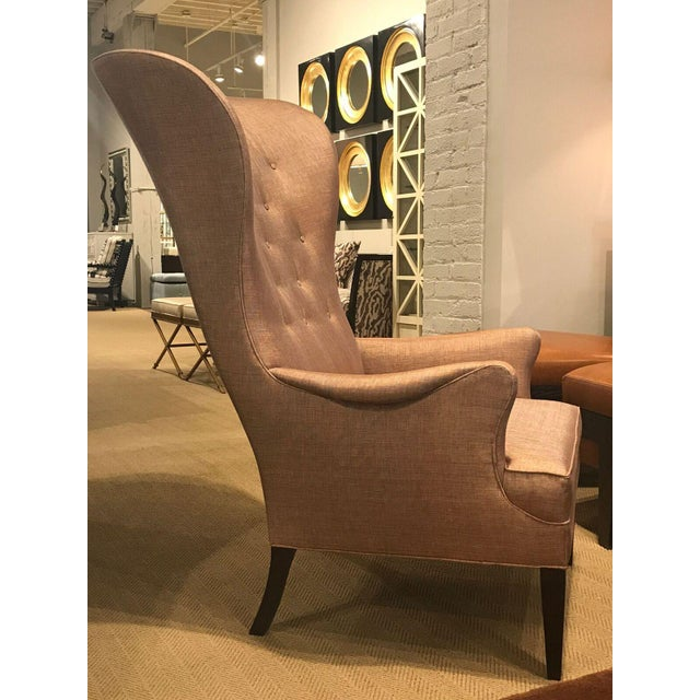Hickory Chair Modern Bird Wing Chair For Sale In San Francisco - Image 6 of 7