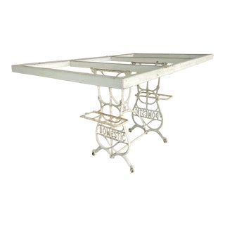 Antique Garden Dining Table For Sale