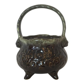 Hull Pottery Footed Pot For Sale