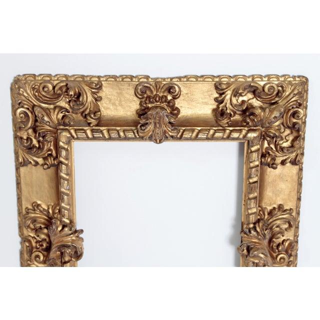 Rare 17th Century Giltwood Italian Picture Frame For Sale In Dallas - Image 6 of 11