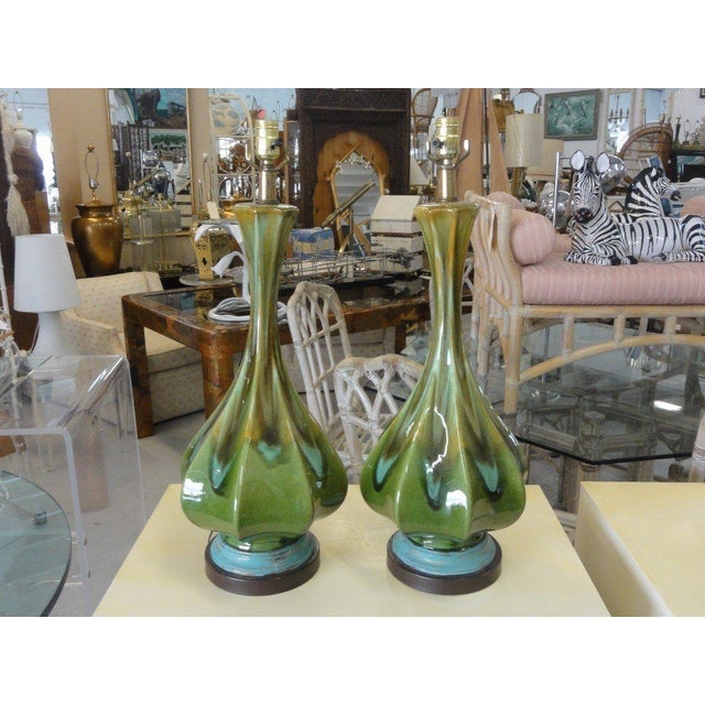 Mid-Century Modern Lamps - A Pair - Image 2 of 6