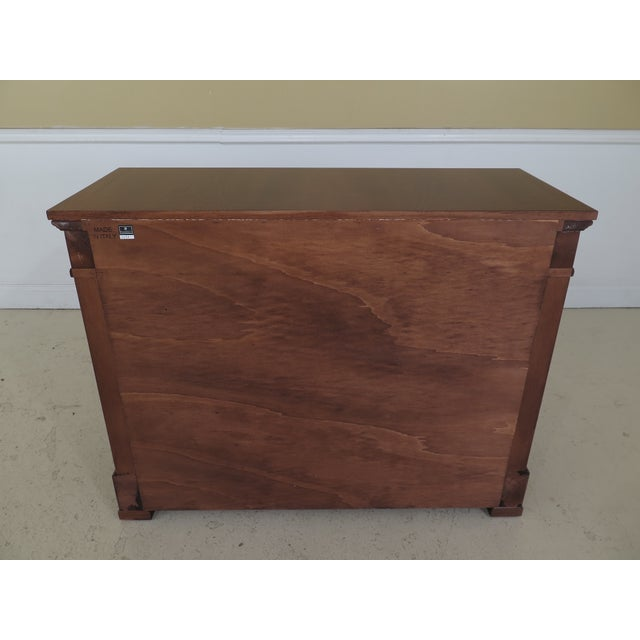 Decorative Crafts Italian Walnut Chest For Sale - Image 11 of 13