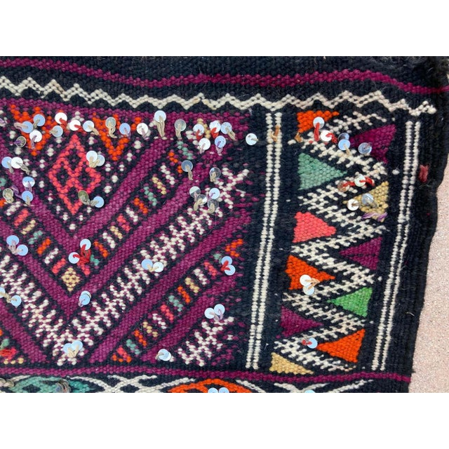 1950s Moroccan African Zemmour Ethnic Textile Rug For Sale - Image 10 of 13