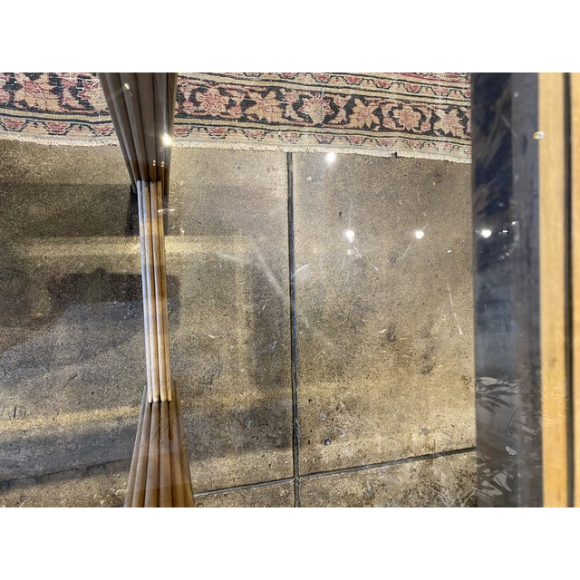 Art Deco Style Console With Smoke Glass Top For Sale In Los Angeles - Image 6 of 8