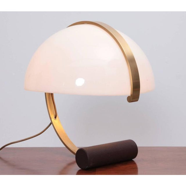 Harvey Guzzini Rare Mid-Century Italian Table Desk Lamp by Harvey Guzzini For Sale - Image 4 of 4