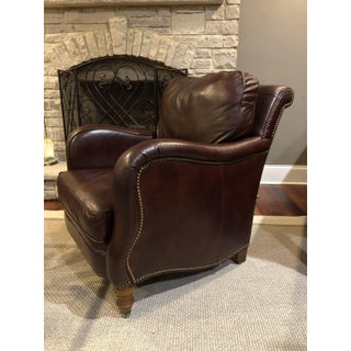 Sam Moore Leather Arm Chair Preview
