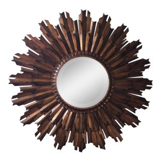 La Barge Gold Sunburst Mirror Model LM2460