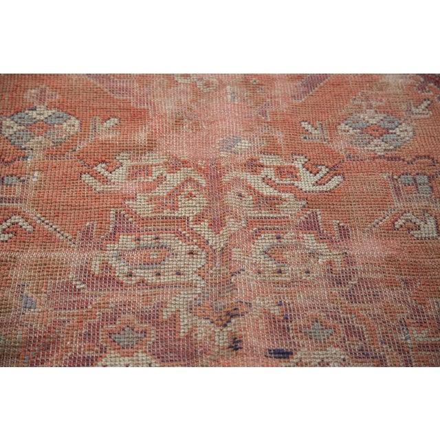 "Distressed Oushak Carpet - 5'4"" X 8' - Image 6 of 9"