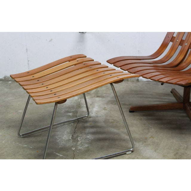 Hans Brattrud Scandia Lounge Chair & Ottoman For Sale In Kansas City - Image 6 of 11