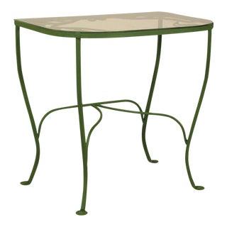Vintage Salterini Wrought Iron Console Table