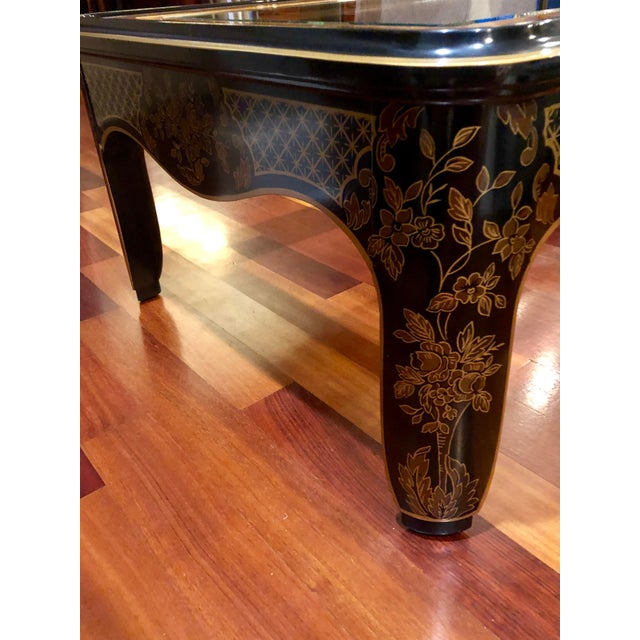 1980s Chinoiserie Drexel Heritage Coffee Table For Sale - Image 10 of 11