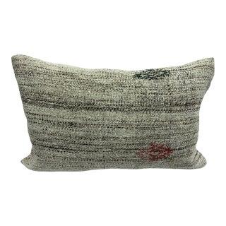 Decorative Modern Decor Vintage Turkish Handmade Accent Lumbar Pillow For Sale