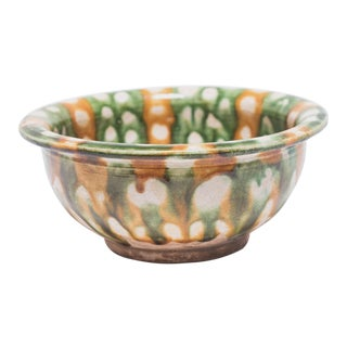 Chinese Sancai Drip Bowl For Sale
