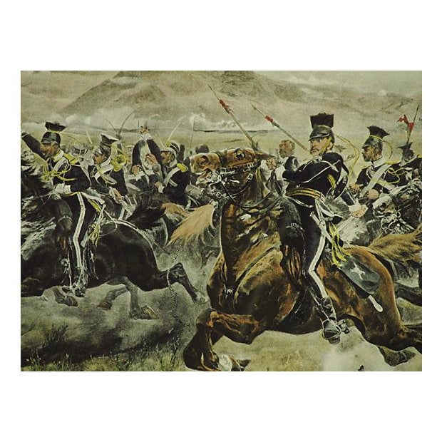 Charge of the Light Brigade Engraving For Sale - Image 5 of 8