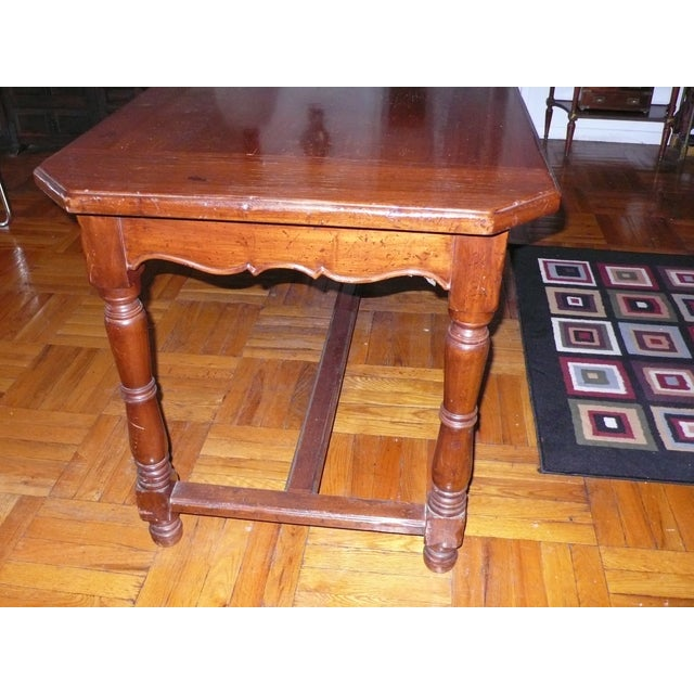French Provincial Italian Library/Dining Table - Image 6 of 6
