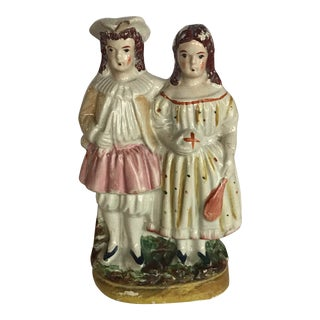 English Traditional Staffordshire Figurine For Sale