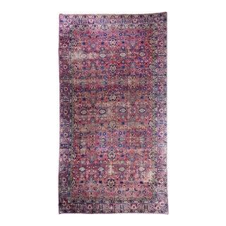 Oversized Magenta Ground Khorasan Carpet For Sale