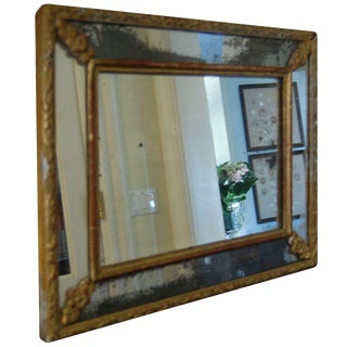 French Cushion Frame Mirror