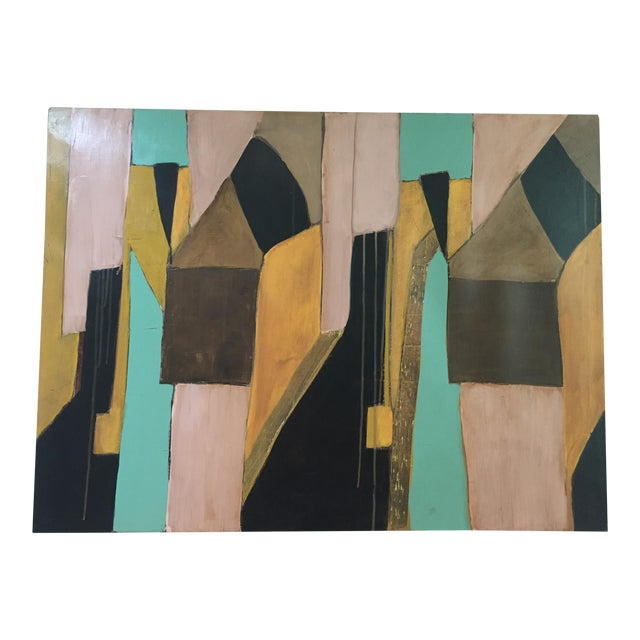 Contemporary Abstract by Artist Rick Griggs Dominium For Sale