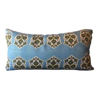 Alamwar Blue Parakeet Grande Lumbar Pillow