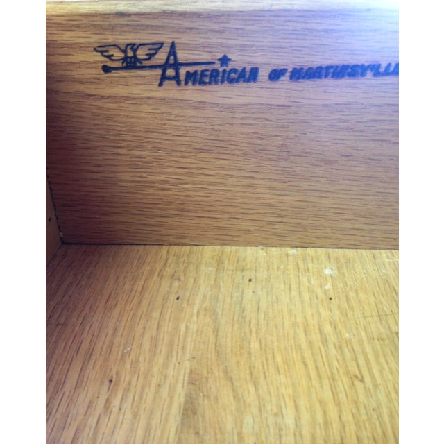 Southwest American by Martinsville Dresser/Mirror For Sale - Image 5 of 7