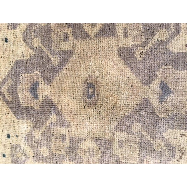 "Vintage Bellwether Rugs Turkish Oushak Rug - 5'6""x9'11"" - Image 6 of 9"