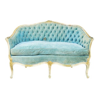 Vintage French Provincial Loveseat For Sale