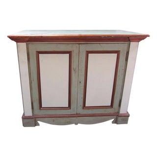 Custom Rustic Painted Buffet/TV Cabinet