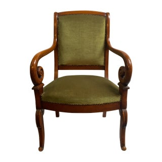 Director Chair With Curved Arms For Sale