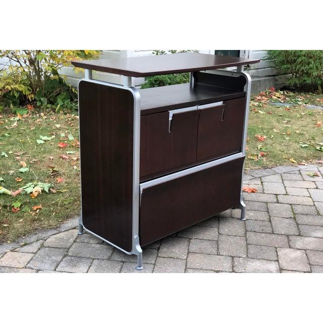 Herman Miller Rosewood & Metal Cabinet For Sale - Image 13 of 13