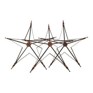 Five-Point Barn Stars - Set of 3