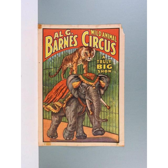 Al G. Barnes Circus Poster, 1960 - Image 2 of 2