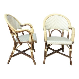 Modern Authentic French Maison J. Gatti Bistro Chairs - a Pair For Sale