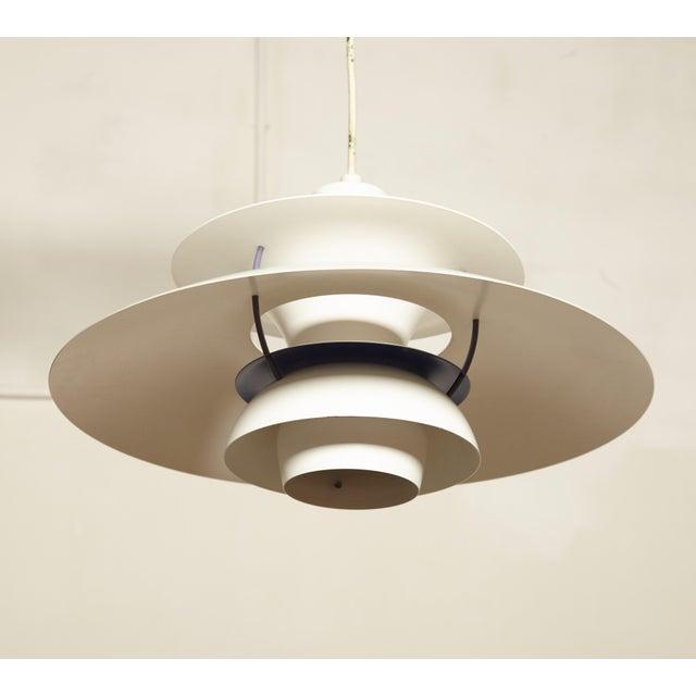 Mid-Century Modern Vintage Ph5 Pendant Lamp by Poul Henningsen for Louis Poulsen, Denmark For Sale - Image 3 of 8