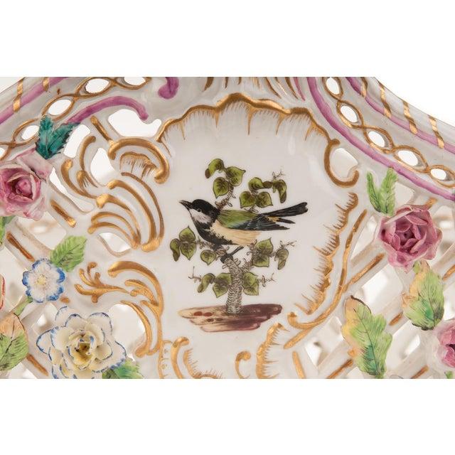 Herend Antique 16' Porcelain Centerpiece - Image 7 of 10
