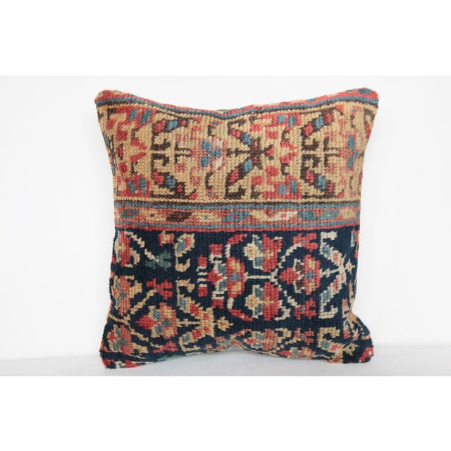 Antique Caucasian Rug Pillow For Sale In Baltimore - Image 6 of 9