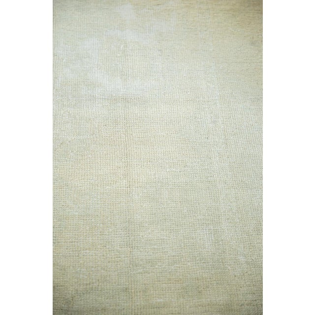 """Textile Distressed Oushak Rug - 4'6"""" X 8' For Sale - Image 7 of 13"""