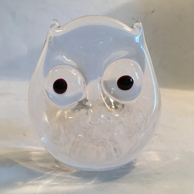 Vintage Art Glass Owl - Image 2 of 8