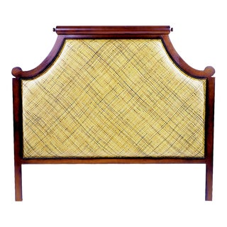 David Francis Twill Queen Headboard